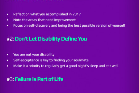 Top 5 Disabled Dating Tips For 2018 Infographic
