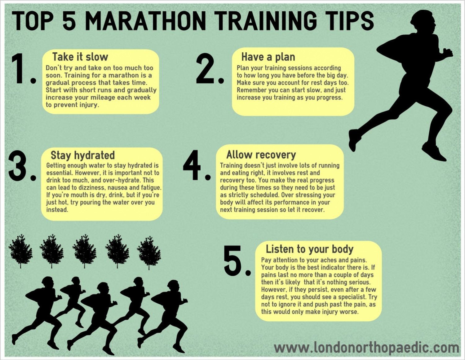 Top 5 Marathon Training Tips