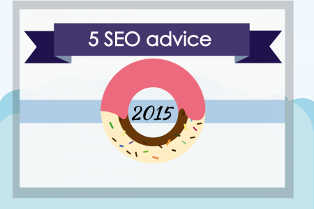 Top 5 SEO Advice for 2015 Infographic