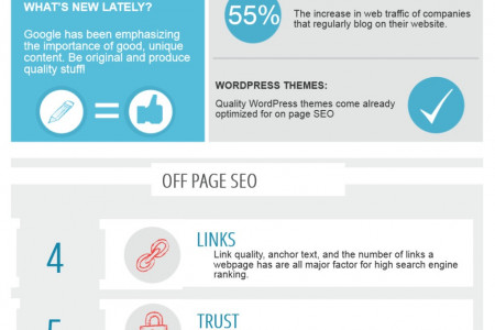 Top 5 SEO Ranking Factors  Infographic
