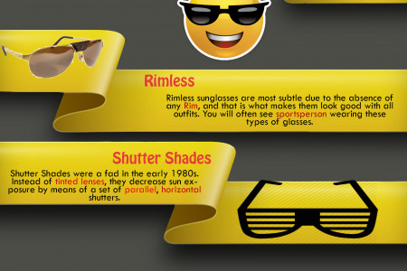 Top 5 Types Of Sunglasses For Men Infographic
