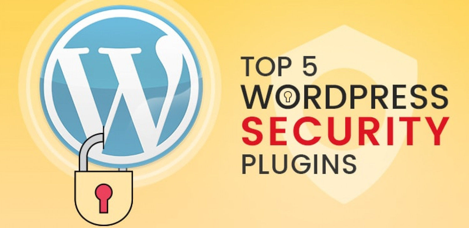 Top 5 WordPress Security Plugins: Prevent your Website From Getting Hacked Infographic