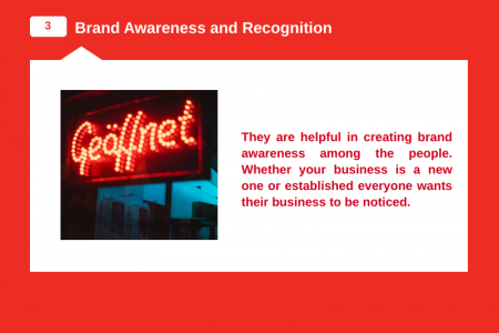 Top 6 Reasons As to Why Should You Go for LED Signs Infographic