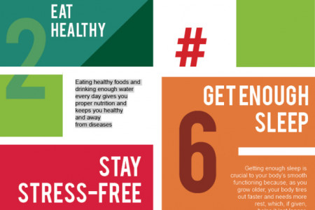Top 7 Best Anti-Ageing Tips For Men & Women Infographic