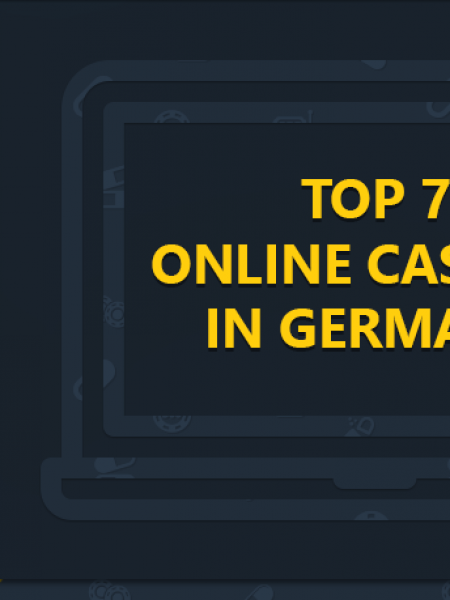 TOP 7 ONLINE CASINOS IN GERMANY Infographic