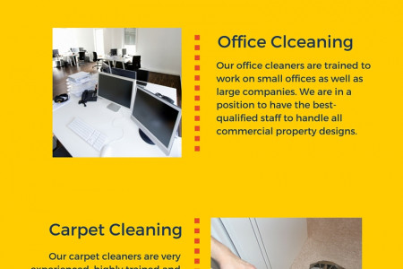Top Commercial Cleaning London Infographic