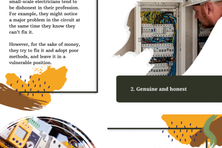 Top Criteria to Look in a Local Electrician Infographic