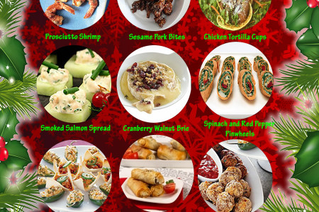 Top Easy Appetizers Infographic