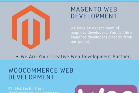 Top eCommerce Web Development Services in India Infographic