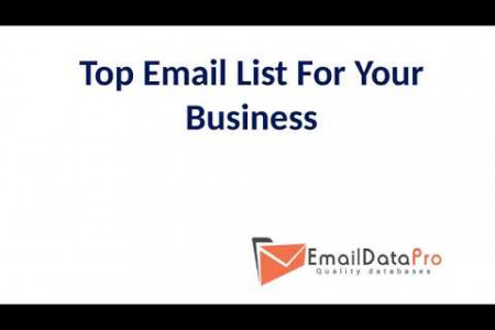 Top Email List For Your Business Infographic