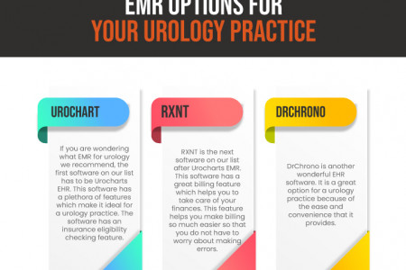 Top EMR Options For Your Urology Practices Infographic