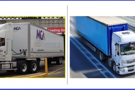 Top Expedited Trucking Company - MGA International Infographic