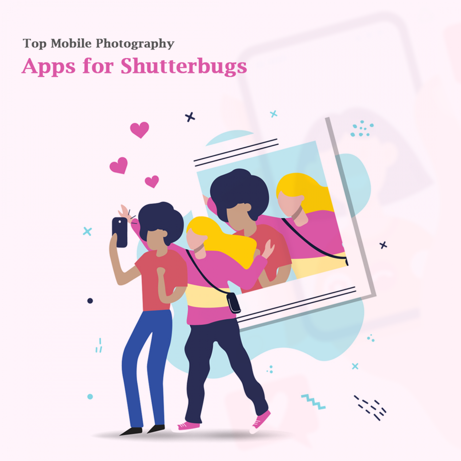Top Mobile Photography Apps for Shutterbugs Infographic