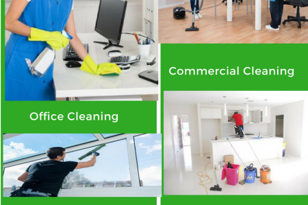 Top Most office cleaning services Infographic