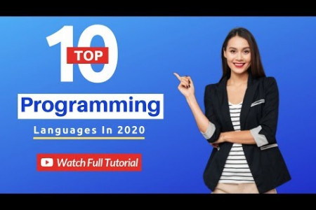 Top Programming Languages in 2020 Infographic