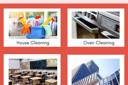 Top Quality Cleaning Services | Keep Your Space Clean |   CleanBee Infographic