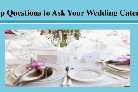 Top Questions to Ask Your Wedding Caterer Infographic