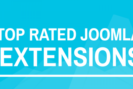 Top Rated Joomla Extensions Infographic