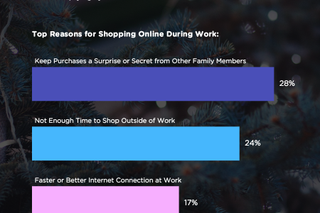 Top Reasons For Shopping at Work Infographic