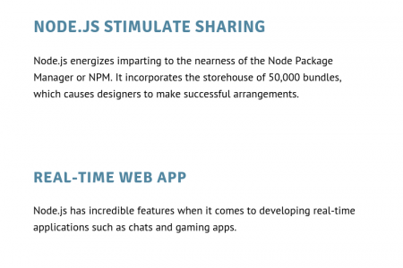 Top Reasons to Use Node.js for Web Development Infographic