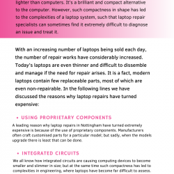 Top Reasons Why Laptop Repair Costs Have Increased Hugely | Visual.ly