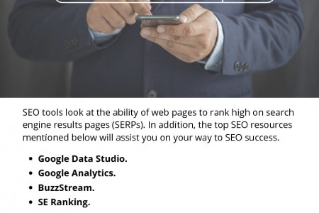 Top SEO Tools To Boost Your Reach and Rankings for Your Business Infographic
