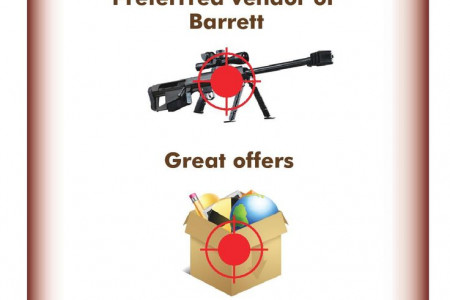 Top Series Of Barrett Rifles  Infographic