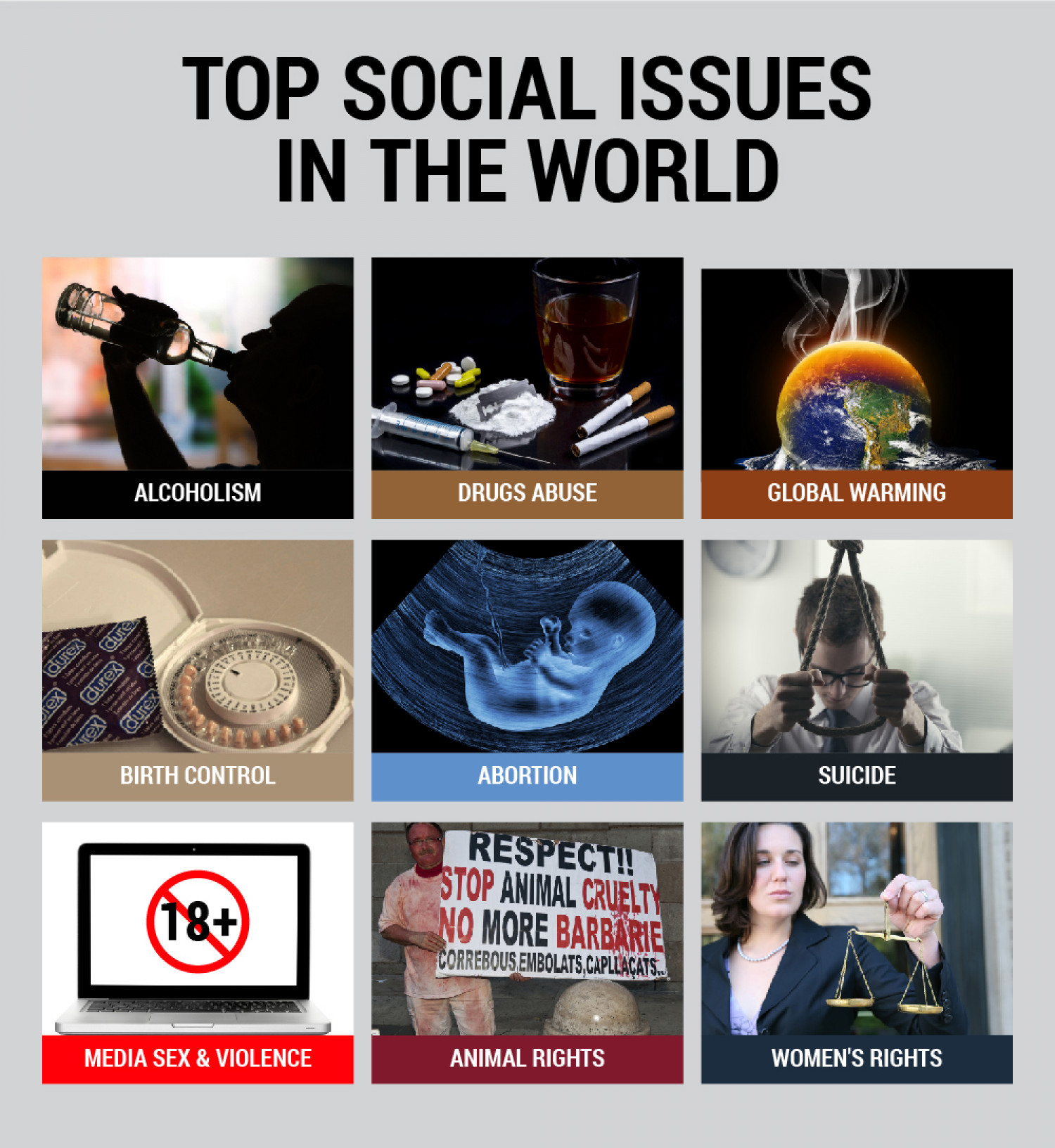 top world issues today Top stories featured on sciencedaily's health  more top health news july 9  obesity and overweight linked to long-term health problems after.