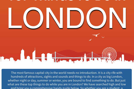 Top Things To Do in London Infographic