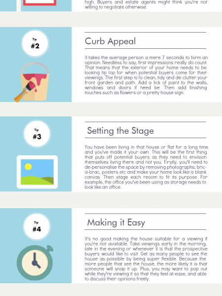 Selling Your House: Top Tips for a Quick Sale Infographic