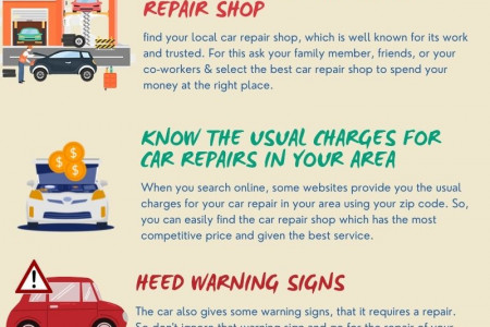 Top Tips to Save Money on Car Repair – Infographic Infographic