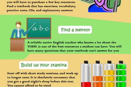 Top TOEFL Tips Infographic