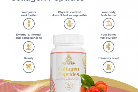 Top Ways To Notice Health Improvements With Collagen Peptides  Infographic