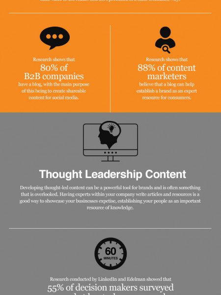 Tops Tips for Businesses to Develop an Engaging B2B Content Marketing Plan Infographic