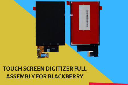 Touch Screen Digitizer Full Assembly for Blackberry Infographic