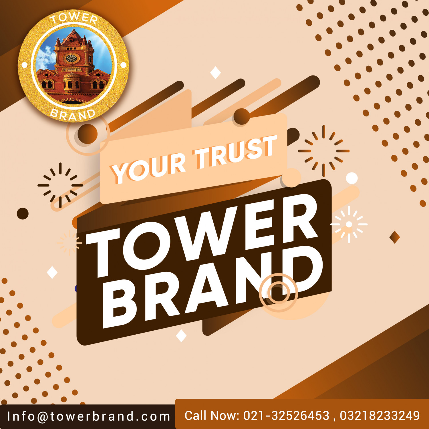 Tower Brand Trusted Seed Exporter Pakistan Infographic