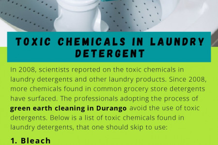 Toxic Chemicals in Laundry Detergent Infographic