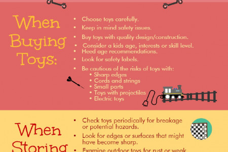 Toy Safety Tips Infographic