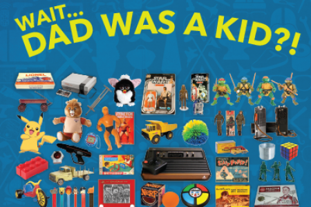 Toys your Dad probably played with as a kid. Infographic