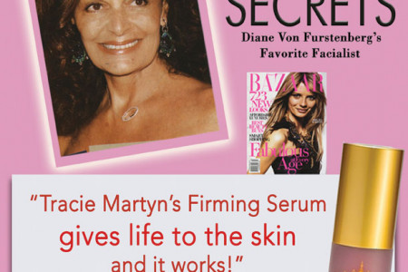 Tracie Martyn's Firming Serum Infographic