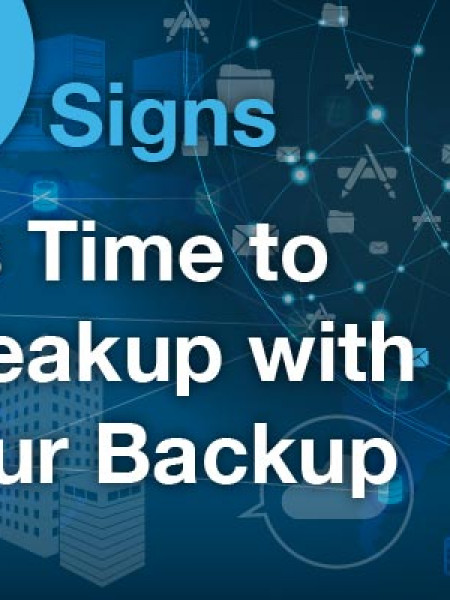Traditional Backup vs. Hybrid Cloud Backup Infographic