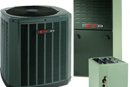Trane 3 Ton 17 SEER 2 Stage Gas System Infographic