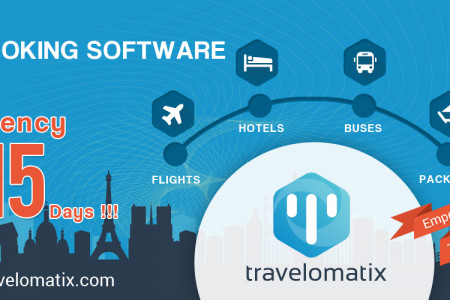 Travel Software and Web Portals, 2017 is the time for consolidation. Infographic