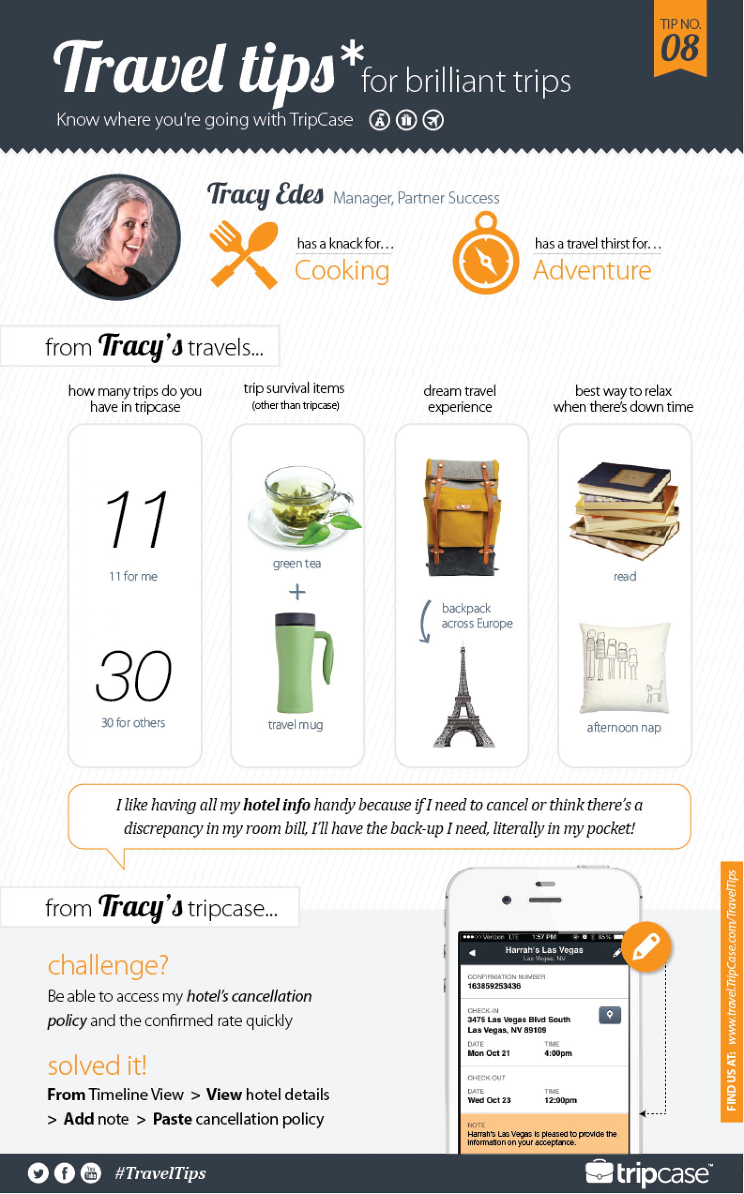 Travel Tips for Brilliant Trips Infographic