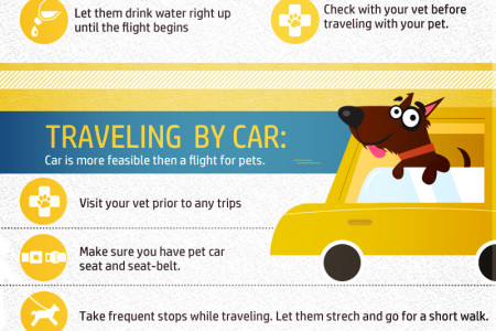 Traveling Tips for Travelers with Pets Infographic