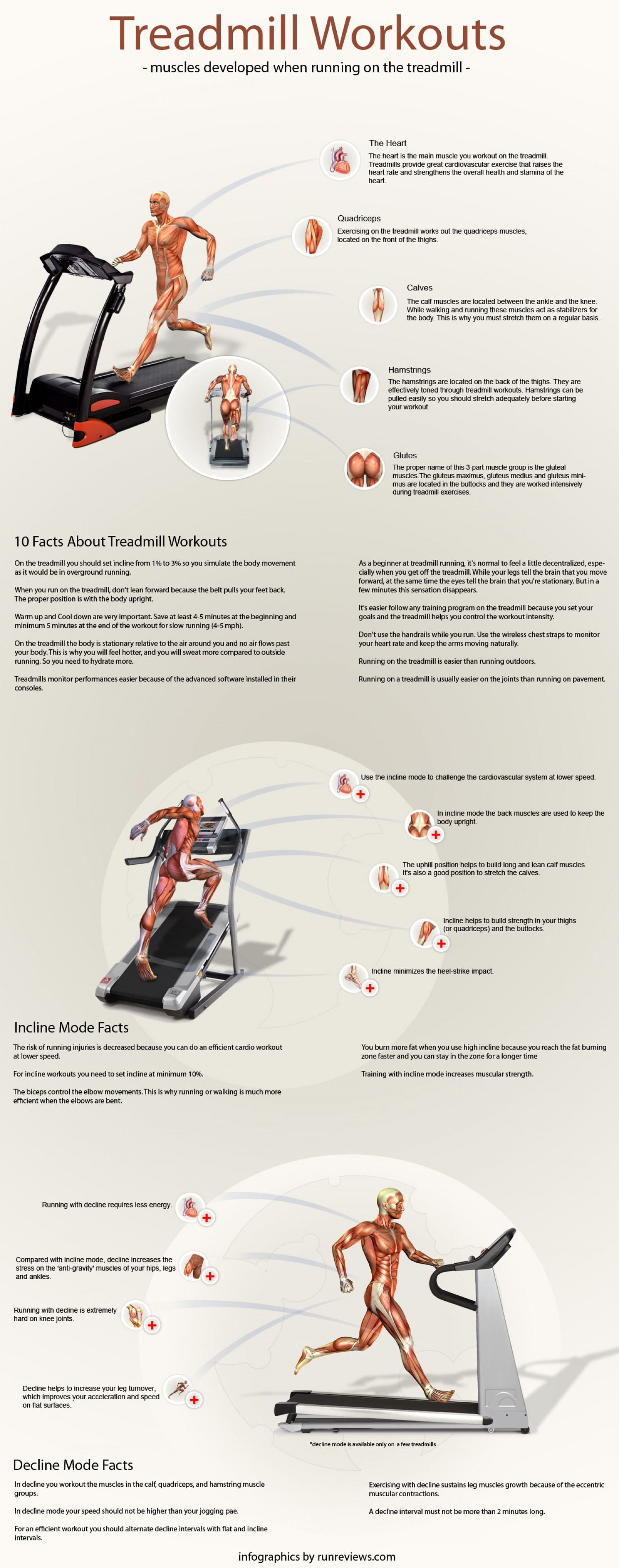 Treadmill Workouts  Infographic
