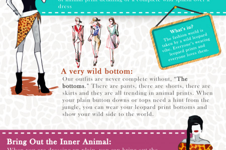 Trend Alert: Animal Prints Are A New Color Infographic