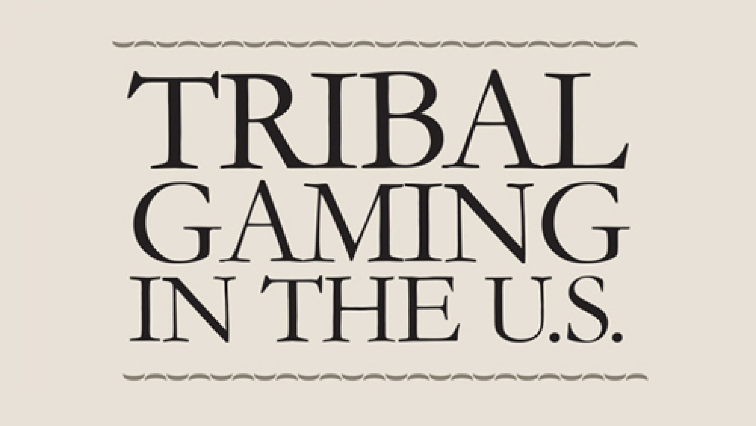 Tribal Gaming in the US Infographic