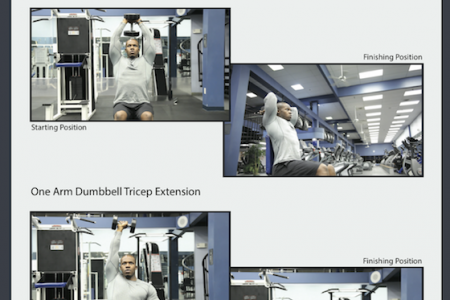Tricep Exercises Infographic