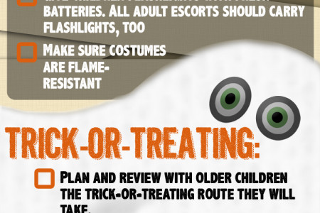 Trick-or-Treat Safety Checklist Infographic